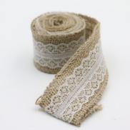 4-CM-decoración-rollo-de-cinta-de-arpillera-de-yute-natural-burlap-cinta-rosa-vela-de