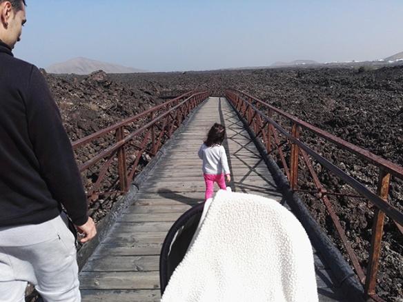 Lanzarote con niños muy pequeños